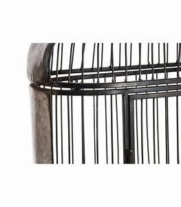 étagère Originale Murale : tag re murale en m tal noir originale cage ~ Teatrodelosmanantiales.com Idées de Décoration