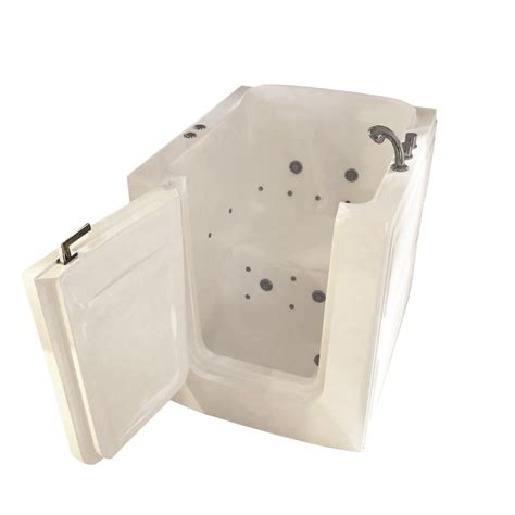 Shower Stall Kits Canada by Walk In Tubs Sanctuary Small Easy Soak Walk In Tub