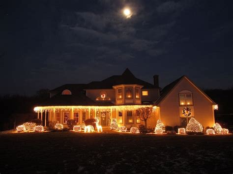putting christmas lights on roof how to put lights on roof adorn your house for the winter season roofing design center