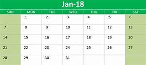 2018 calendar google sheets printable templates calendarbuzz With google sheet 2018 calendar template