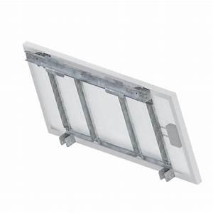 Fixation Panneau Solaire : support de fixation mur m t panneau solaire u100 zs ~ Dallasstarsshop.com Idées de Décoration