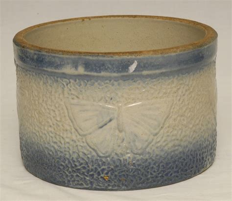 blue white butter crock butter i this w a lid blue white butter crock blue
