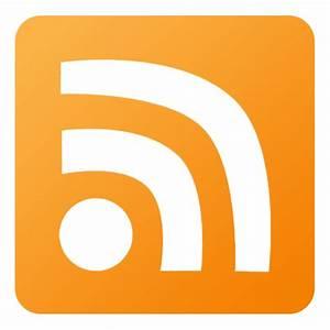 RSS Icon - Flat Gradient Social Icons - SoftIcons.com