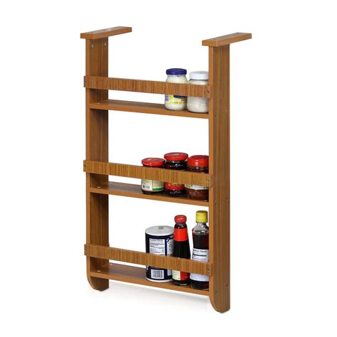 Spice Shelf Rack by Furinno Cherry 3 Shelf Refrigerator Wall Hanging Spice