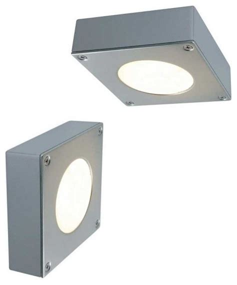 splashproof box light for wall or ceiling modern bathroom vanity lighting by lighting styles