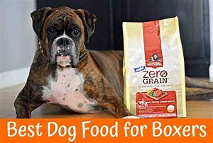 Best dog food for boxers guide in 2018 us bones for Best dog food for boxers