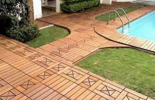 Interlocking Deck Tiles Cheap by 22 Composite Flooring Concepts To Bring Contemporary Style