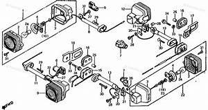 Honda Motorcycle 1982 Oem Parts Diagram For Turn Signal
