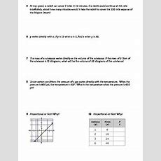 Direct Variation Practice Worksheet  Riddle  Fun By