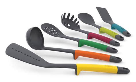 ustensile de cuisine joseph joseph design ustensile de cuisine elevate set de 6 pièces multicolore
