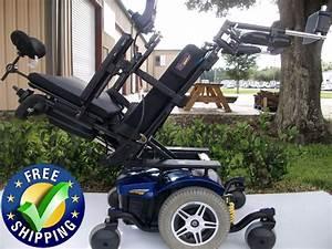 Pride Mobility Quantum 614 Power Chair With Tilt  U0026 Recline