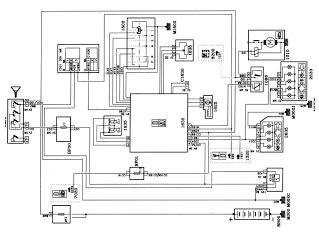 Peugeot Wiring Diagram Electrical System Circuit