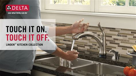Delta Linden Single-handle Pull-out Sprayer Kitchen Faucet