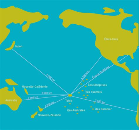 infos sur polynesie carte geographique arts et voyages