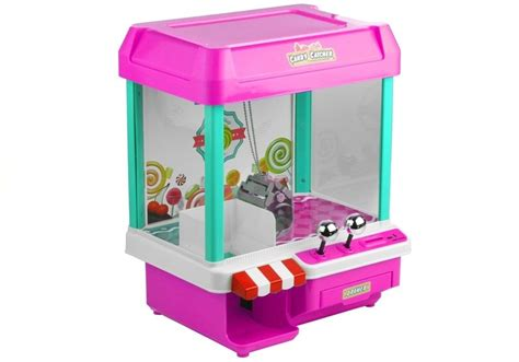 claw machine candy catcher pink toys games