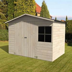 Cabanon De Jardin Bois : abri de jardin bois avec plancher m mm loguec ~ Melissatoandfro.com Idées de Décoration