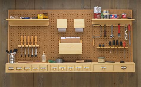 Storage Pegboard by Pegboard Storage System Woodworking Project Woodsmith