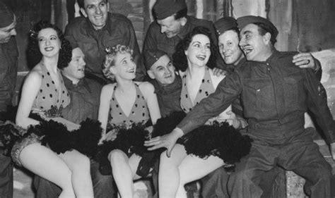 ensa entertained  troops  world war ii