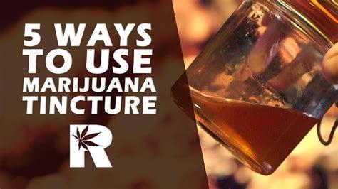 5 Easy Ways To Use Cannabis Vegetable Glycerin Tincture Cannabasics #46  Ruffhouse Studios