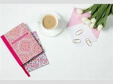 Free photo Coffee, Flowers, Notebook Free Image on