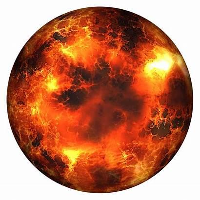 Planet Transparent Burning Globe Earth Pngio Nibiru