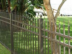 Aluminum fencing making the right choice for Costco dog fence