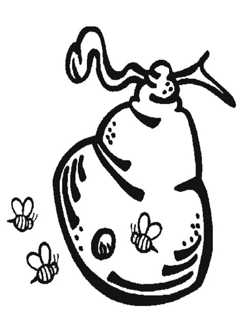 beehive coloring pages getcoloringpagescom
