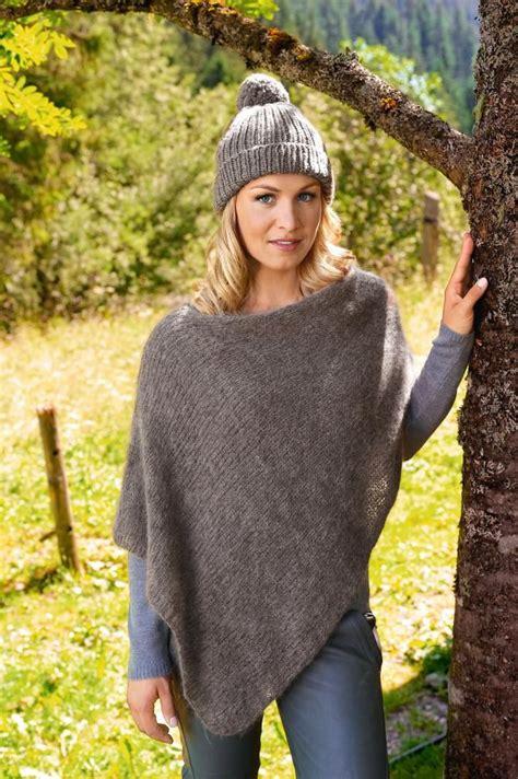 poncho stricken aus einem stück magdalena neuner fall and winter clothes crochet pullover pattern poncho knitting patterns