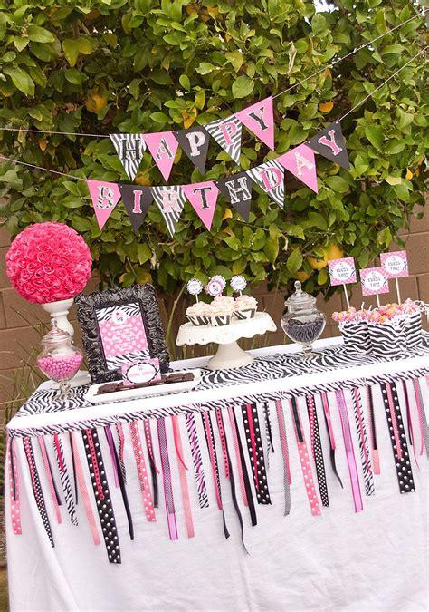 Zebra Party Decorations On Pinterest  Zebra Party Favors