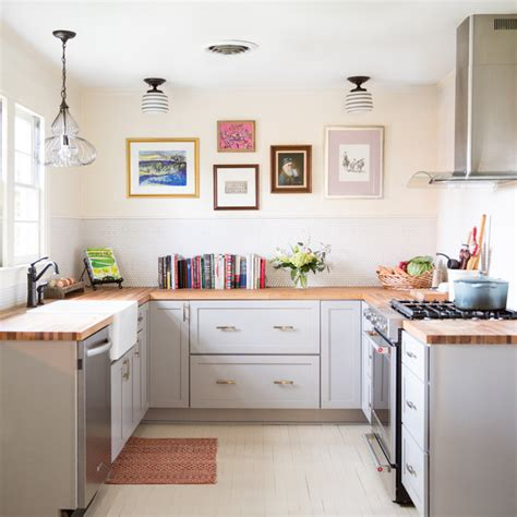 small  shaped kitchens brimming  ideas