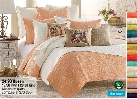 Queen Quilts Just .98 + 25%-30% Off