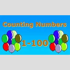 Counting Numbers 1100 Youtube