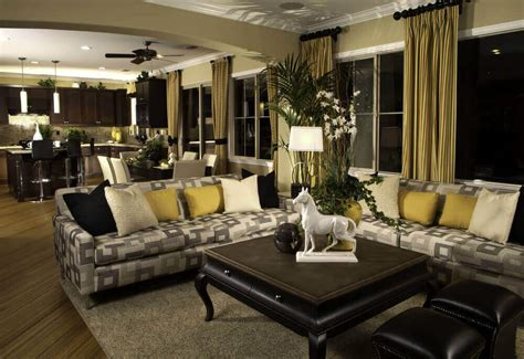 Living Room Curtain Ideas Grey Sofa by 36 Elegant Living Rooms That Are Richly Furnished Amp Decorated