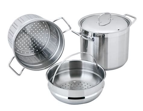 benzer berlin professional  stainless pc cookware set victorias basement