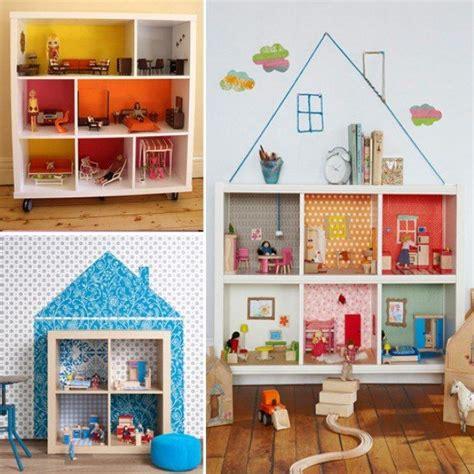 Puppenhaus Design Ideen Selber Machen Holz Kinderzimmer