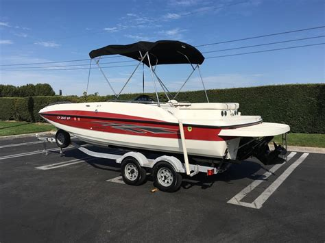Used Bayliner Boats For Sale California by 2011 Used Bayliner 217217 Deck Boat For Sale 19 995