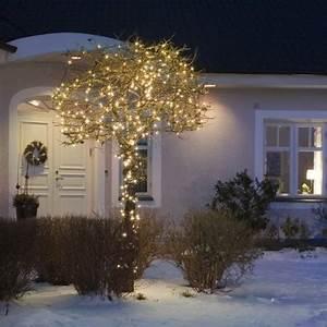 Guirlande Led Blanche : illumination guirlande led lumineuse couleur blanche 20m 230v ~ Teatrodelosmanantiales.com Idées de Décoration