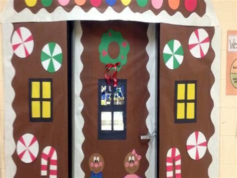 Office Door Gingerbread House