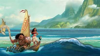 Moana Wallpapers Disney Desktop Ocean Background Laptop