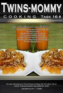 Task # 16 Ayam Masak Madu Jeruk