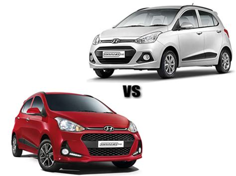 Hyundai Grand I10 Modification by Specification Comparison Hyundai Grand I10 Vs Grand I10