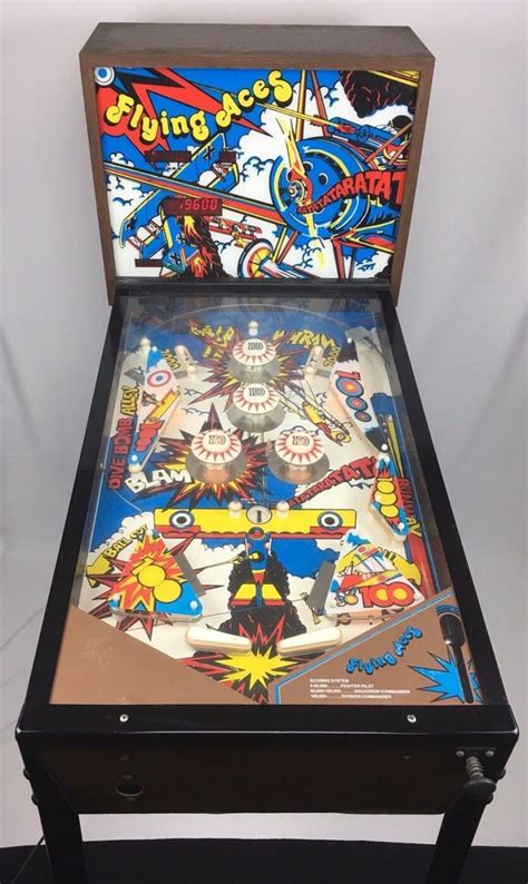 flying aces home pinball machine  sentinel