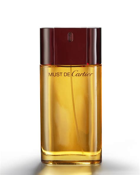 cartier fragrance must parfum eau de toilette