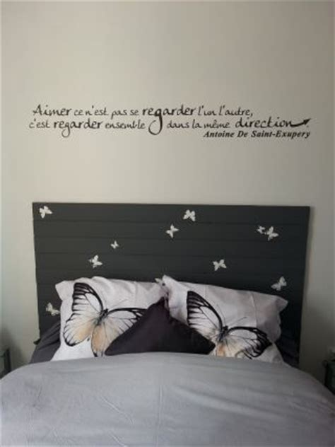 stickers phrase chambre adulte stickers muraux chambre adulte