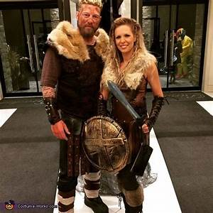 Ragnar and Lagertha - Halloween Costume Contest at Costume ...