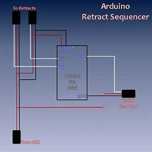 Diy Retract Sequencer Using An Arduino