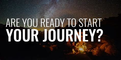 Are You Ready to Start Your Journey • Order of Man