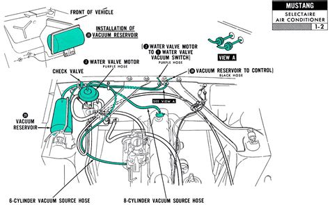 1967 Mustang Vacuum Diagram 1967 mustang wiring and vacuum diagrams average joe