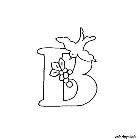 coloriage lettre  dessin