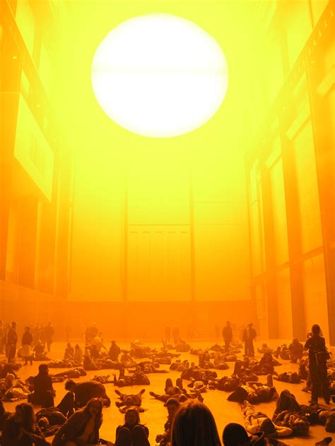 Olafur Eliasson Sun by Olafur Eliasson Weather Project Photo Page